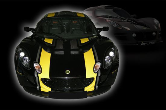 Décoration de Lotus Exige Cup 260