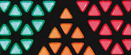 LED apparentes triangles