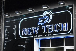 Enseigne New Tech Marseille