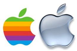 Evolution du logo Apple