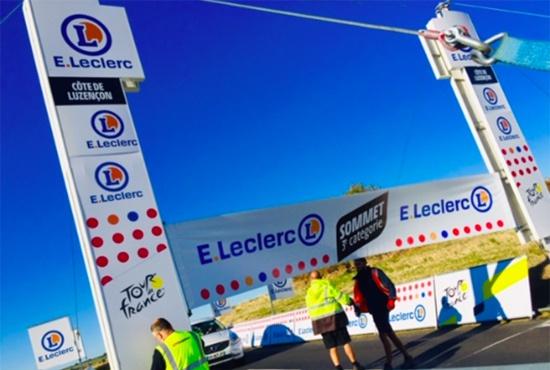Portique Leclerc Tour de France 2020
